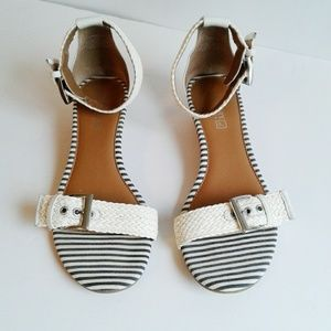 Sperry Topsider Ankle Strap Sandal Wedge 8.5